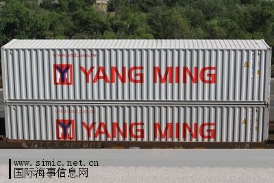 Yang Ming to sell 8,795 used dry containers